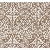 Vliesové tapety na stenu Sinfonia ornament pieskovo hnedý