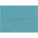 Tapety papierové - modrá jednofarebná so štruktúrou maľby - ZĽAVA