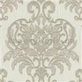 Vliesové tapety na stenu Spotlight - zámocký vzor krémový