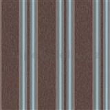 Vliesové tapety na stenu Spotlight pruhy tyrkysovo-hnedé