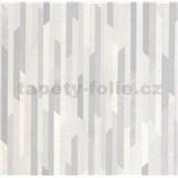 Vliesové tapety na stenu COLLECTION pásky béžové/zlaté/medené