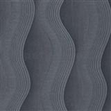 Vliesové tapety na stenu Studio Line - Graceful vlnovky sivo-strieborné