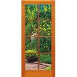 Vliesové fototapety okno na terasu rozmer 97 cm x 220 cm