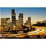 Vliesové fototapety svetla mesta rozmer 368 cm x 254 cm