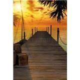 Vliesové fototapety Ostrov pokladov rozmer 124 cm x 184 cm