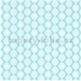 Vliesové tapety na stenu IMPOL Sweet and Cool retiazkovitý vzor s hviezdami mintový
