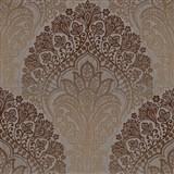 Vliesové tapety na stenu Spectrum moderný vzor hnedý