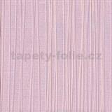 Vliesová tapeta na stenu Lacantara 1 - prúžky ružové