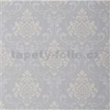 Tapety na stenu Collection 2 zámocký vzor sivý