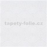 Vliesové tapety IMPOL Timeless kruhy biele