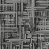 Vliesové tapety na stenu Times 3D modern tmavo sivo-strieborné