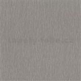 Vliesové tapety na stenu Times štrukturovaná tmavo sivá