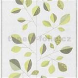 Vliesové tapety na stenu Trend Edition listy zelené