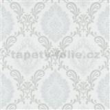 Vliesové tapety na stenu Trésor ornamenty sivé