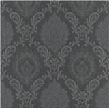 Vliesové tapety na stenu Trésor ornamenty čierne