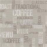 Papierové tapety na stenu Tribute - coffee svetlo hnedé