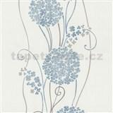 Vliesové tapety na stenu Tribute - kvety cibuľové modré