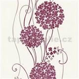Vliesové tapety na stenu Tribute - kvety cibuľové červené
