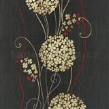 Vliesové tapety na stenu Tribute - kvety cibuľové okrové