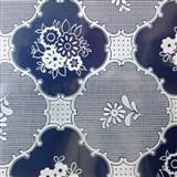 Obrusy návin 30 m x 140 cm transparentný vzor lesklý
