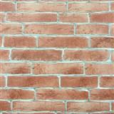 Vinylové tapety na stenu tehla červená