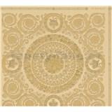 Luxusné vliesové  tapety na stenu Versace IV barokové ornamenty zlaté