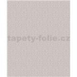 Vinylové tapety na stenu Vila malý zámocký vzor svetlo hnedý