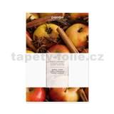 Vonný sáčok vôňa jablko-škorica, 16x11cm, č.491324