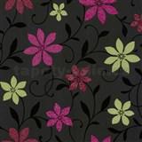 Tapety na stenu Wish kvety zeleno-ružové