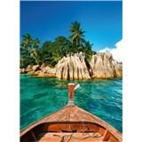 Vliesové fototapety St.Pierre ostrov na Seychelách rozmer 184 x 254 cm