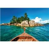 Vliesové fototapety St.Pierre ostrov na Seychelách rozmer 368 x 254 cm