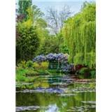 Vliesové fototapety záhrada vo Francúzsku  rozmer 184 x 254 cm