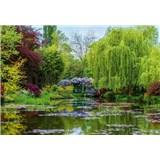 Vliesové fototapety záhrada vo Francúzsku  rozmer 368 x 254 cm