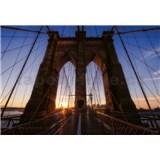 Vliesové fototapety Brooklynský most rozmer 368 cm x 254 cm