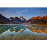 Vliesové fototapety jazero Magog Kanada rozmer 368 cm x 254 cm