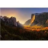 Vliesové fototapety Yosemitský národný park rozmer 368 x 254 cm