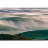 Vliesové fototapety hmlisté kopce rozmer 368 x 254 cm