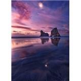 Vliesové fototapety zátoka pri západe slnka rozmer 184 x 254 cm