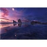 Fototapety zátoka pri západe slnka rozmer 368 x 254 cm