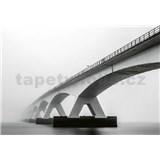 Vliesové fototapety architektúra mostu rozmer 368 x 254 cm