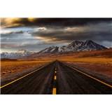 Vliesové fototapety cesta v Atacame rozmer 368 x 254 cm
