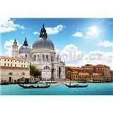 Vliesové fototapety bazilika Salute v Benátkách rozmer 368 x 254 cm