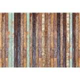 Vliesové fototapety vintage drevenná stena rozmer 368 x 254 cm