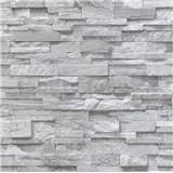 Papierové tapety na stenu Sweet & Cool kameny sivé