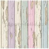 Vliesové tapety na stenu staré drevené dosky farebné