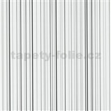 Papierové tapety na stenu X-treme Colors - prúžky sivo-čierne