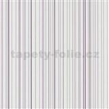 Papierové tapety na stenu X-treme Colors - prúžky fialové