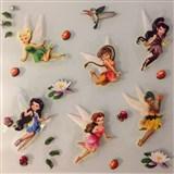 3D samolepky na stenu detské Cililing a kamaráti