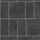 Tapety na stenu Stones and Style - kamenný obklad tmavo sivý