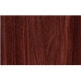 Samolepiace tapety mahagónové drevo - renovácia dverí - 90 cm x 210 cm